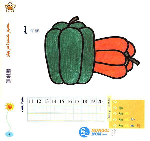 儿童简笔画:蔬菜篇